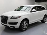 This awesome 2014 Audi Q7 4x4 Diesel comes loaded with