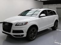 2014 Audi Q7 with S Line Package,3.0L Turbocharged