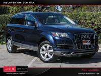 Scores 22 Highway MPG and 16 City MPG! Audi Certified