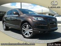 You can expect a lot with the 2014 Audi Q7. This