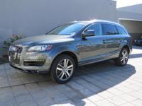 Q7 3.0T Premium quattro, Audi Certified, and 8-Speed