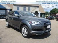 PREMIUM KEY FEATURES ON THIS 2014 Audi Q7 include, but
