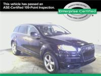 AUDI Q7 Large luxury SUV which seats a family of 7. The