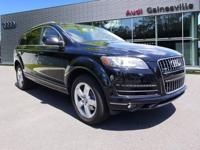 2014 Audi Q7 CARFAX One-Owner. Clean CARFAX. Priced