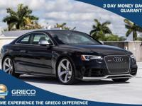 2014 Audi RS 5 4.2 quattro Panther Black Crystal