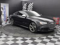Clean, One-Owner CarFax-Local Trade-Audi MMI Navigation