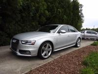 We are excited to offer this 2014 Audi S4. Your buying