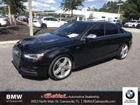 This 2014 Audi S4 in features: Clean CARFAX. quattro