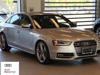 This 2014 Audi S4 Premium Plus is offered to you for
