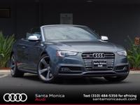 2014 Audi S5 Monsoon Gray with Black Top and Black