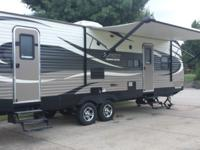 Avenger 28DBS The Avenger 28DBS travel trailer by Prime