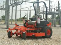 commercial mower is virtually unbreakable and with its