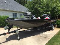 Includes 60hp Mercury, 45# Minn Kota trolling Mtr.,
