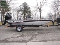2014 Bass Tracker Pro 160 Bass Crappie Fishing Boat -