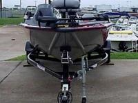 2014 Bass Tracker Pro 175 TXW all welded aluminum bass