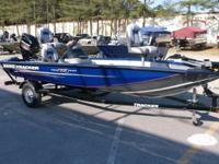 2014 Bass Tracker Pro Team 175TF powered by a Mercury