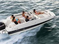 2014 Bayliner 190 FULL WINDSHIELD/OPEN CENTER PANEL