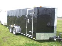 24 ROCK GUARD, 32' SIDE DOOR, ELECTRIC BRAKES, INSIDE