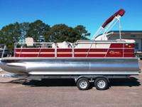 2014 Bentley 220 Performance Fish pontoon boat! Runs