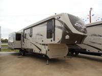 2014 BIG COUNTRY 3596RE - REAR ENTERTAINMENT, LEATHER