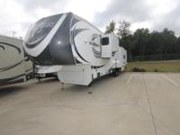 PREOWNED 2014 BIGHORN 3875FB SOLID SURFACES 6 PT AUTO