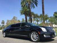 Limo: 2014 Black 70-inch Cadillac XTS Limo for Sale
