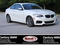 BMW Certified Pre-Owned! This 2014 BMW M235i Coupe is