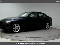 Clean CARFAX.2014 BMW 3 Series 320i BlueReviews: *
