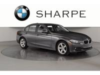 Mineral Grey 2014 BMW 3 Series CARFAX One-Owner. Recent