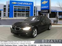 This 2014 BMW 3 Series 320i xDrive was meticulously