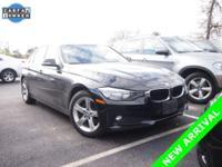 2014 BMW 3 Series 320i xDrive in Jet Black. Premium