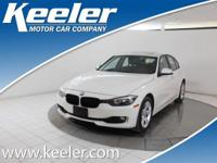 Certified. CARFAX One-Owner. 2014 BMW 3 Series ***BLUE