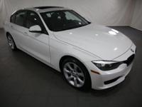 2014 BMW 3 Series Alpine White AWD  CARFAX One-Owner.