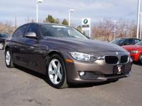 AWD. BMW Certified! Turbo! Previous owner purchased it