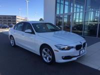 Alpine White 2014 BMW 3 Series 320i xDrive AWD 8-Speed