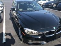 Recent Arrival! 2014 Jet Black BMW 3 Series 320i xDrive