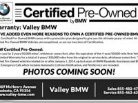 BMW CERTIFIED, COLD WEATHER PKG (Heated Front Seats,