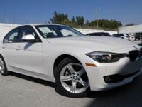 Options:  2014 Bmw 3 Series 328I|Alpine White/Venetian