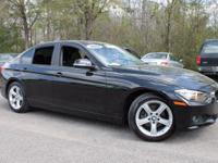 This 2014 BMW 3 Series 328i in Jet Black features: