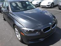 Recent Arrival! 2014 Mineral Gray Metallic BMW 3 Series