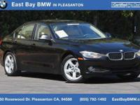 Options:  2014 Bmw 3 Series 328I|Jet Black/Venetian