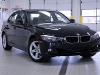 2014 BMW 3 Series 328i xDrive Jet Black Certified.