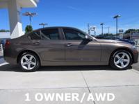 2014 BMW 3 Series 4D Sedan 328i xDrive 2.0L 4-Cylinder
