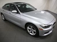 2014 BMW 3 Series Glacier Silver Metallic AWD  CARFAX