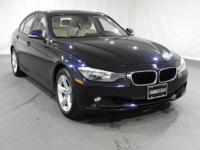 2014 BMW 3 Series Imperial Blue Metallic AWDCARFAX