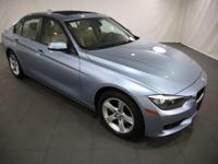 2014 BMW 3 Series Liquid Blue Metallic AWD  CARFAX