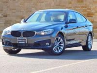 This 2014 BMW 3 Series 328i xDrive Gran Turismo is AWD,