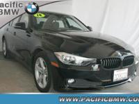 Load your household into the 2014 BMW 320i! This