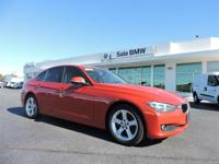 New Price! Certified. Red 2014 BMW 3 Series 320i RWD