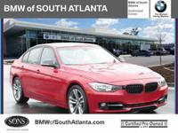 Melbourne Red Metallic 2014 BMW 3 Series 328i RWD